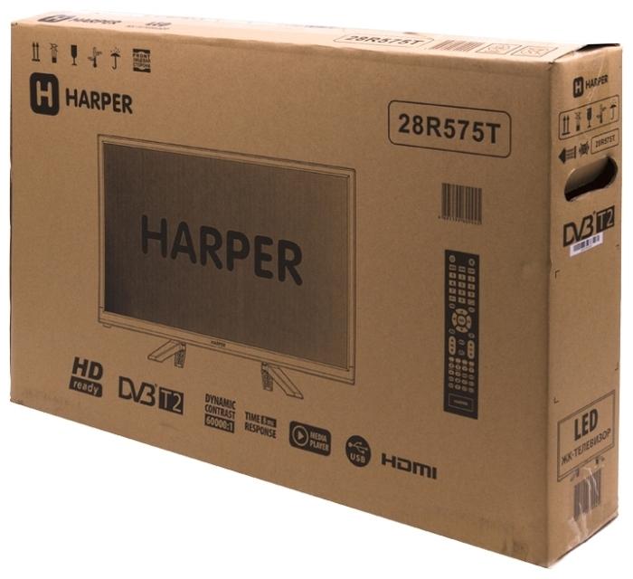 "HARPER 28R575T 27.5"" (2017) - размеры без подставки (ШxВxГ): 643x390x76мм"