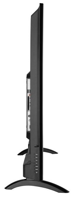 """HARPER 50U660TS 50"""" (2018) - проводные интерфейсы: HDMI x 3, USB x 2, Ethernet, выход аудио коаксиальный, выход на наушники"""