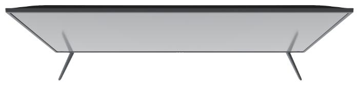 "KIVI 24H500GR 24"" (2019) - размеры с подставкой (ШxВxГ): 550x366x175мм"