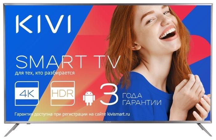 "KIVI 55UR50GR 55"" (2018) - разрешение: 4K UHD (3840x2160), HDR"