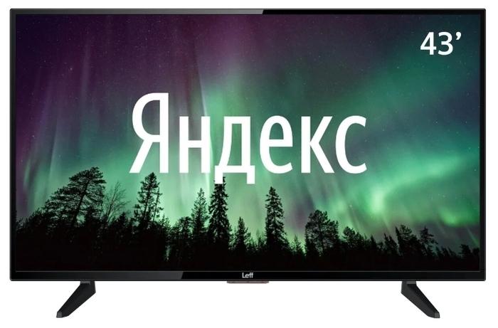 Leff 43F520T 43 (2020) на платформе Яндекс.ТВ - разрешение: 1080p Full HD (1920x1080)