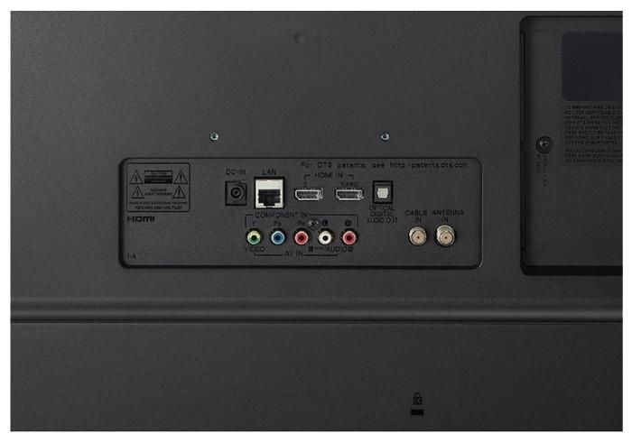 """LG 28TN525S-PZ 27.5"""" (2020) - проводные интерфейсы: HDMI x 2, USB, Ethernet, выход аудио оптический"""