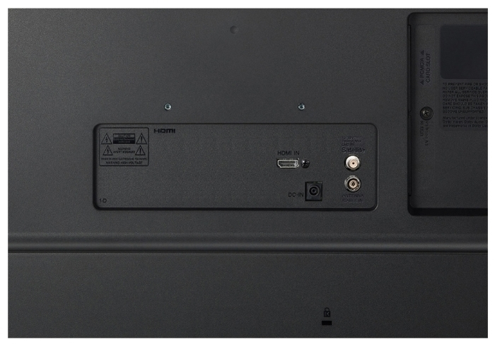 """LG 28TN525V-PZ 27.5"""" (2020) - размеры без подставки (ШxВxГ): 650x394x78мм"""