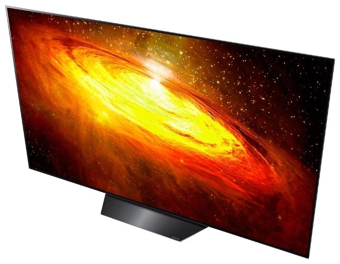 OLED LG OLED65BXRLB 65 (2020) - проводные интерфейсы: HDMI 2.1x 4, USB x 3, Ethernet, выход аудио оптический, выход на наушники