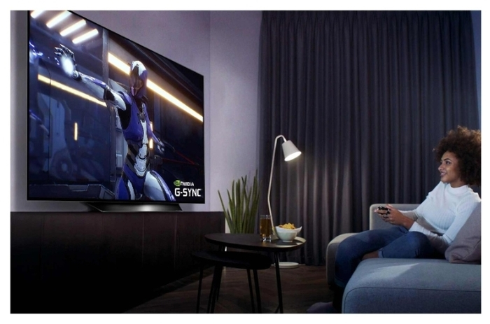 OLED LG OLED65BXRLB 65 (2020) - размеры с подставкой (ШxВxГ): 1449x869x248мм