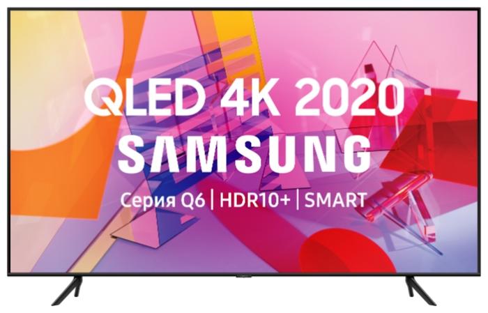 """QLED Samsung QE55Q60TAU 55"""" (2020) - разрешение: 4K UHD (3840x2160), HDR"""