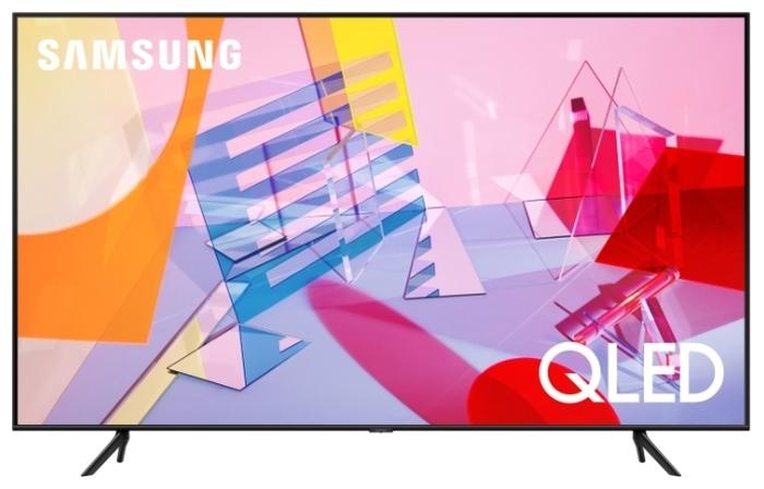 "QLED Samsung QE55Q60TAU 55"" (2020) - диагональ экрана: 55"""