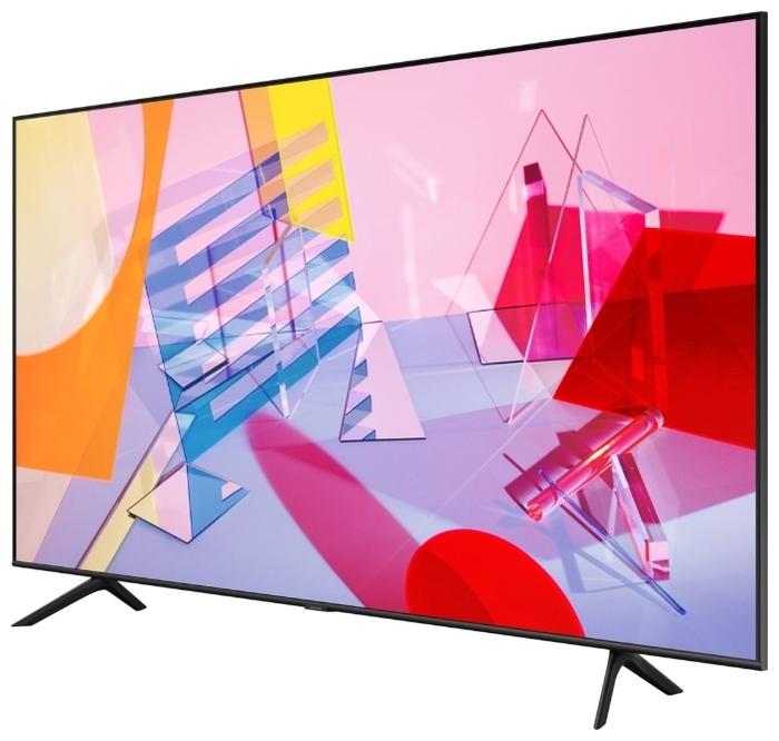 """QLED Samsung QE55Q60TAU 55"""" (2020) - формат HDR: HDR10+"""