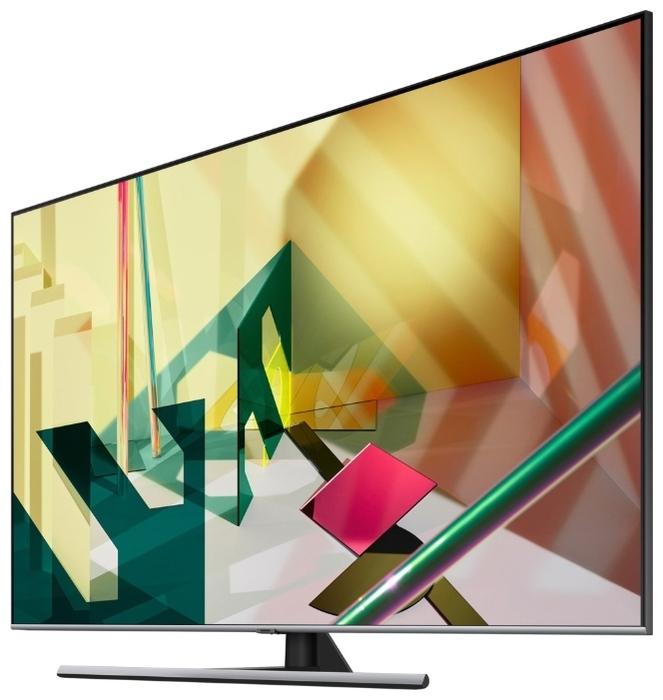 """QLED Samsung QE55Q77TAU 55"""" (2020) - мощность звука: 20Вт (2х10Вт)"""