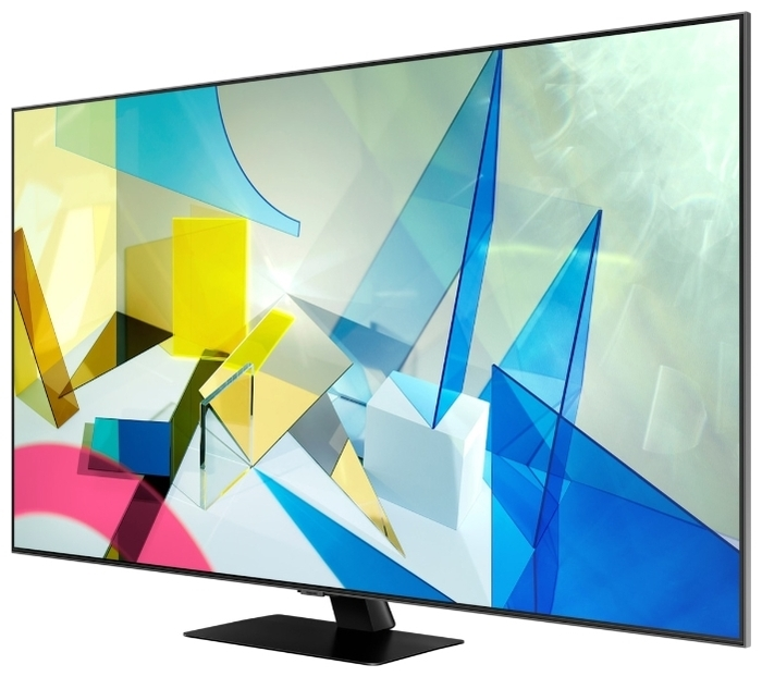 "QLED Samsung QE55Q80TAU 55"" (2020) - диагональ экрана: 55"""