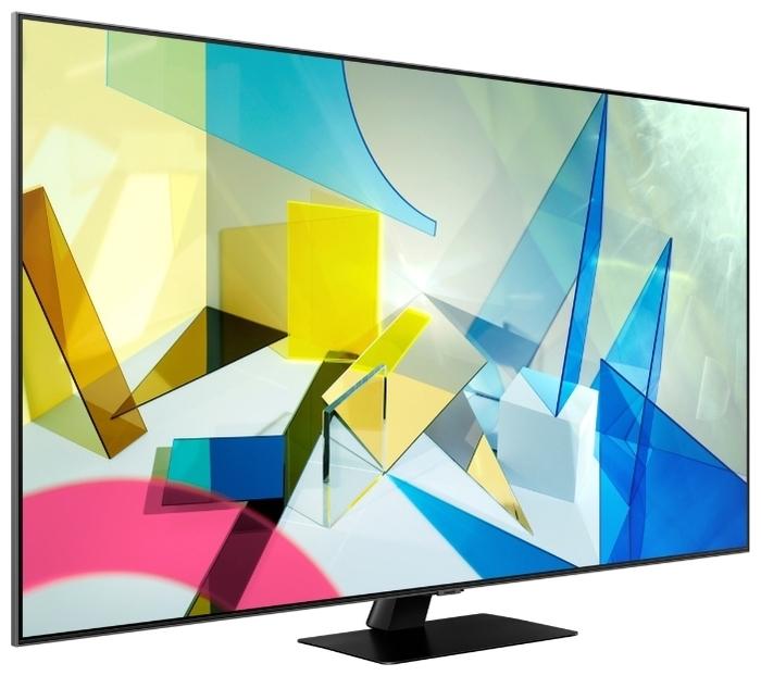 """QLED Samsung QE55Q80TAU 55"""" (2020) - частота обновления экрана: 200Гц"""