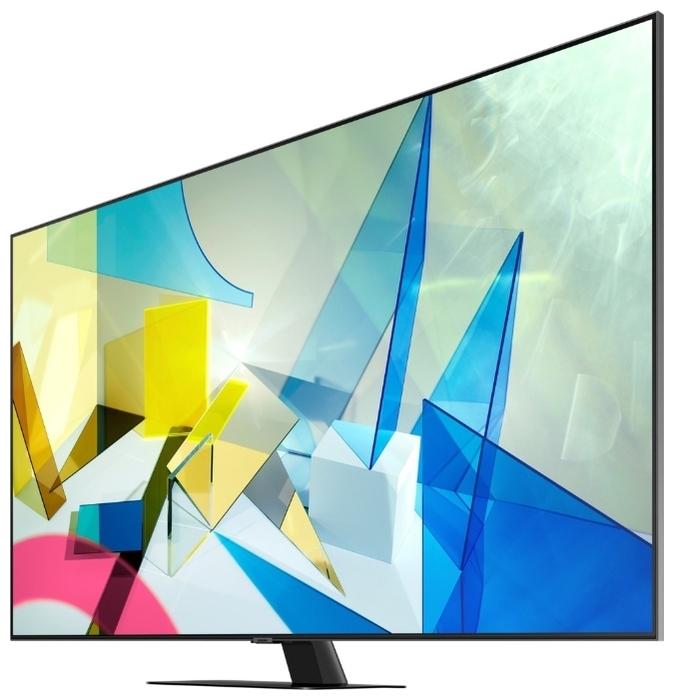 """QLED Samsung QE55Q80TAU 55"""" (2020) - мощность звука: 60Вт (2х10 + 4х10Вт)"""