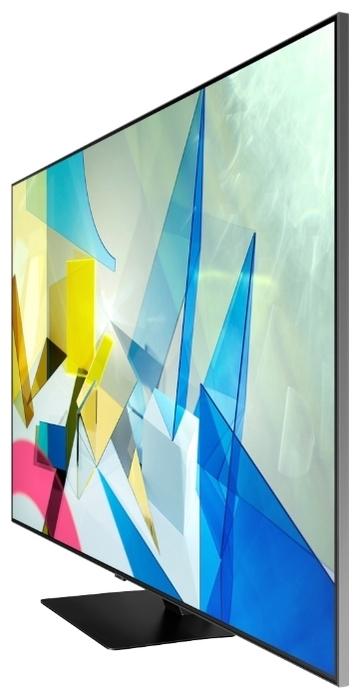 "QLED Samsung QE55Q80TAU 55"" (2020) - платформа Smart TV: Tizen"