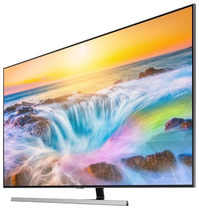 QLED Samsung QE75Q80RAU 74.5 (2019) - мощность звука: 40Вт (4х10Ви)
