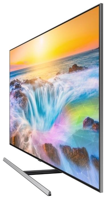 QLED Samsung QE75Q80RAU 74.5 (2019) - беспроводные интерфейсы: Wi-Fi 802.11ac, Bluetooth, Miracast