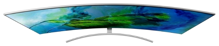 QLED Samsung QE75Q8CAM 74.5 (2017) - размеры с подставкой (ШxВxГ): 1665x1049x433мм