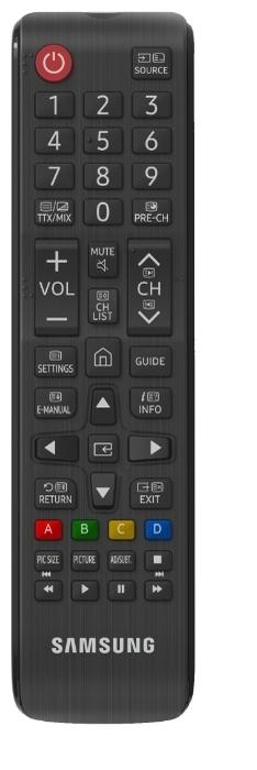 Samsung UE32T5300AU 32 (2020) - размеры с подставкой (ШxВxГ): 737x465x151мм