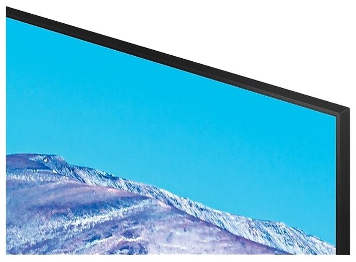 Samsung UE43TU8000U 43 (2020) - проводные интерфейсы: HDMI 2.0x 3, USB x 2, Ethernet, выход аудио оптический