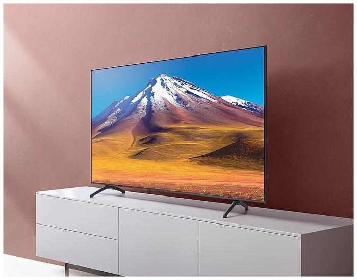 """Samsung UE50TU7090U 50"""" (2020) - проводные интерфейсы: HDMI 2.0x 2, USB, Ethernet, выход аудио оптический"""