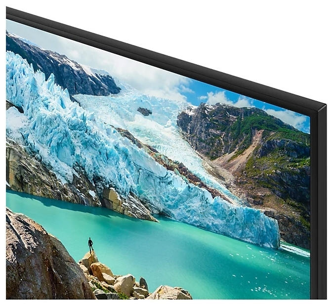 Samsung UE75RU7200U 75 (2019) - проводные интерфейсы: HDMI x 3, USB x 2, Ethernet, выход аудио оптический