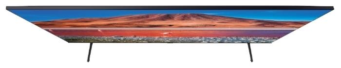 Samsung UE75TU7100U 75 (2020) - беспроводные интерфейсы: Wi-Fi 802.11ac, 802.11b, 802.11g, 802.11n, Bluetooth, Miracast