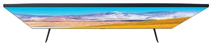Samsung UE75TU8000U 75 (2020) - проводные интерфейсы: HDMI 2.0x 3, USB x 2, Ethernet, выход аудио оптический