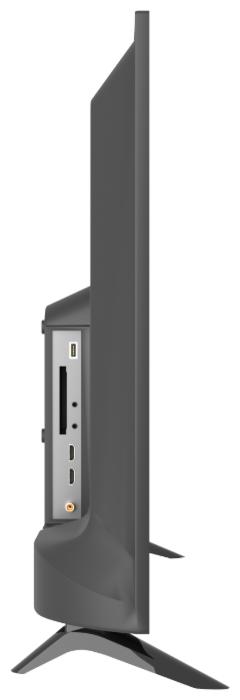 SkyLine 32YT5900 32 (2019) - проводные интерфейсы: HDMI x 2, USB, выход аудио коаксиальный, выход на наушники