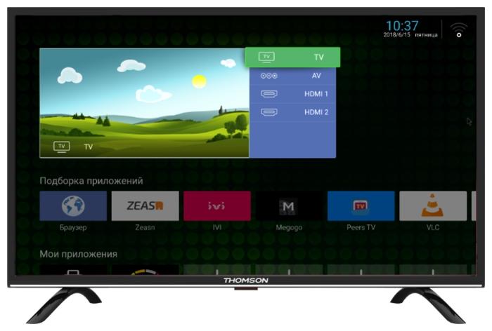 Thomson T32RTL5130 32 (2018) - разрешение: 720p HD (1366x768)