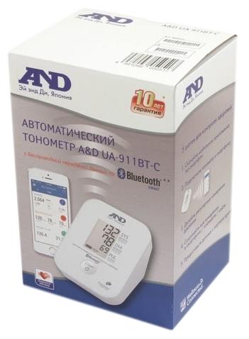 AND UA-911 с передачей данных по Bluetooth - питание: от батареек, от сети