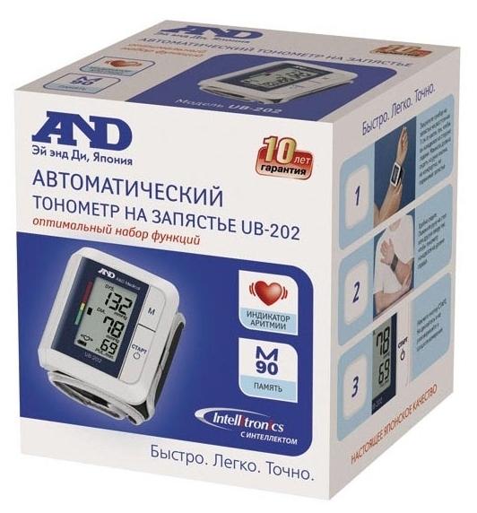AND UB-202 - питание: от батареек
