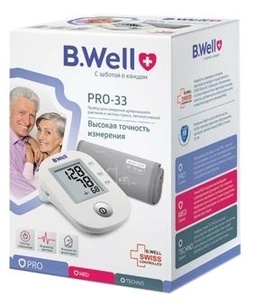 B.Well PRO-33 (М) - манжета: средняя, 22 - 32см