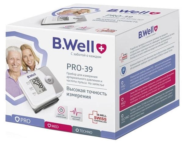 B.Well PRO-39 - питание: от батареек
