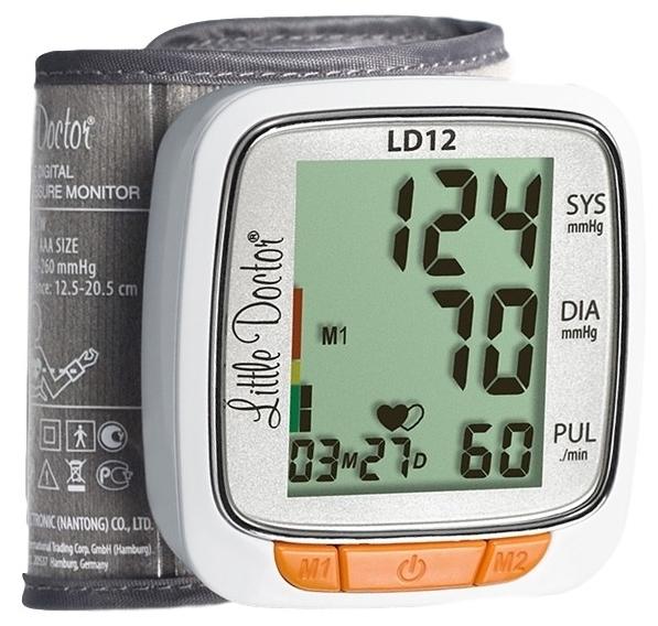 Little Doctor LD12 - тип: автоматический тонометр на запястье