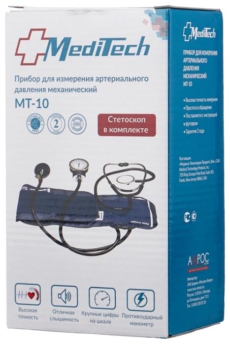 Meditech MT-10-1 со стетоскопом - манжета: универсальная, 25.4 - 40.6см
