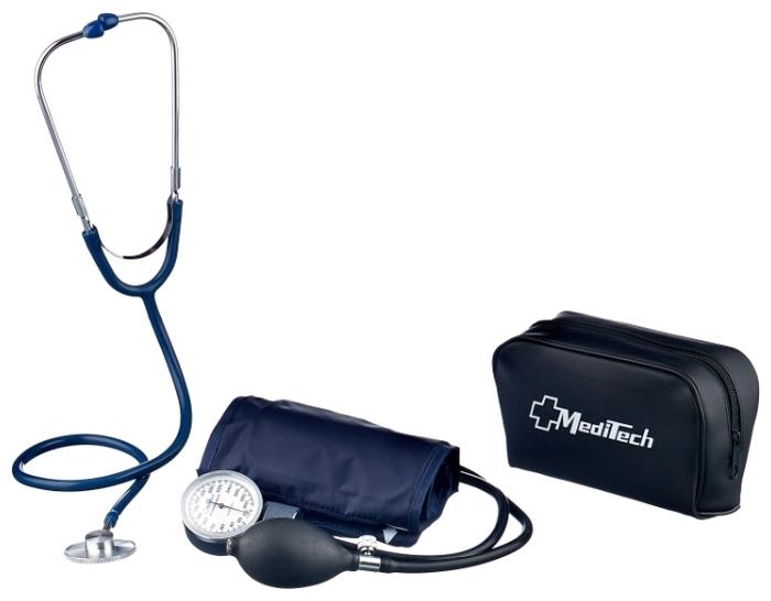 Meditech MT-10-1 со стетоскопом - особенности: безболезненная манжета