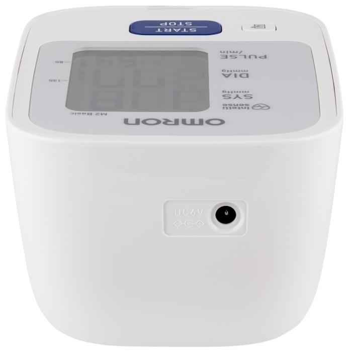 Omron M2 Basic + адаптер + средняя манжета (HEM 7121-ARU) - функции: измерение пульса, индикатор аритмии