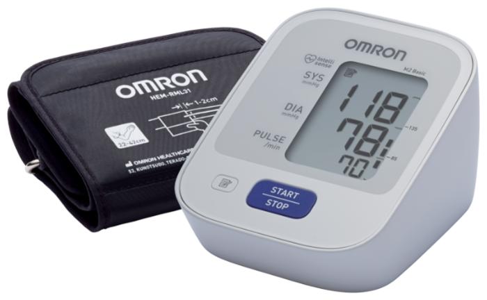 Omron M2 Basic + адаптер + универсальная манжета (HEM-7121-ALRU) - тип: автоматический тонометр
