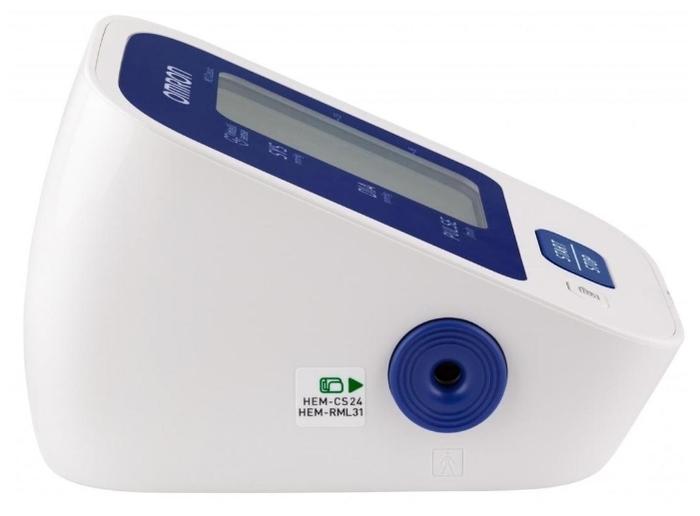Omron M2 Classic + адаптер + универсальная манжета (HEM 7122-ALRU) - питание: от батареек, от сети