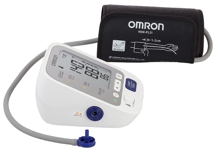 Omron M3 Comfort + адаптер + универсальная манжета (HEM-7134-ALRU) - манжета: универсальная, 22 - 42см