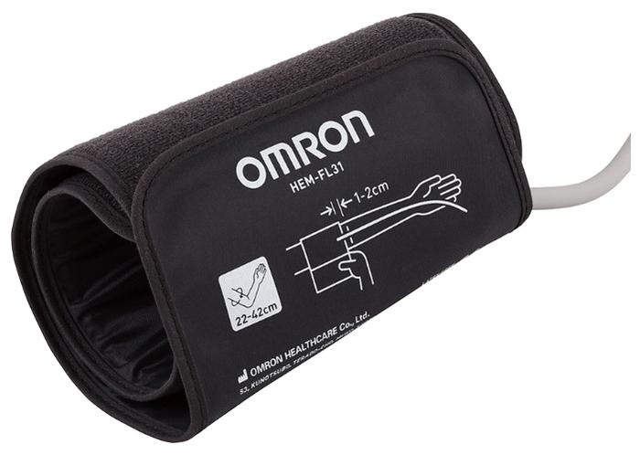 Omron M3 Comfort + адаптер + универсальная манжета (HEM-7134-ALRU) - функции: измерение пульса, режим нескольких измерений