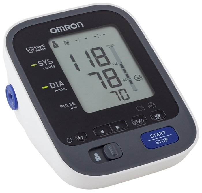 Omron M7 Intelli IT - функции: измерение пульса, гостевой режим