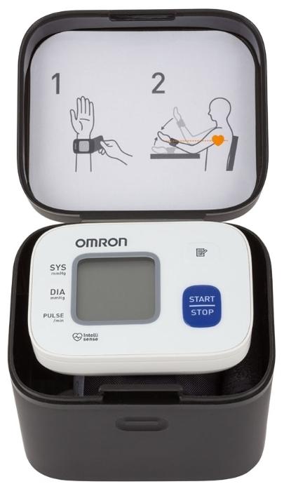 Omron RS2 - функции: измерение пульса, режим нескольких измерений