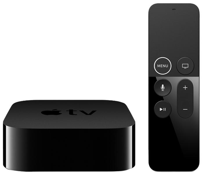 Apple TV 4K 64GB - операционная система: tvOS