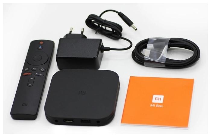 Xiaomi Mi Box S - пульт ДУ: в комплекте