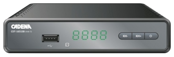 Cadena CDT-1651SB - DVB-T2