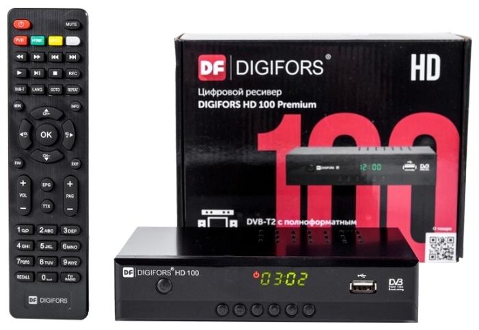 Digifors HD 100 Premium - воспроизведение файлов