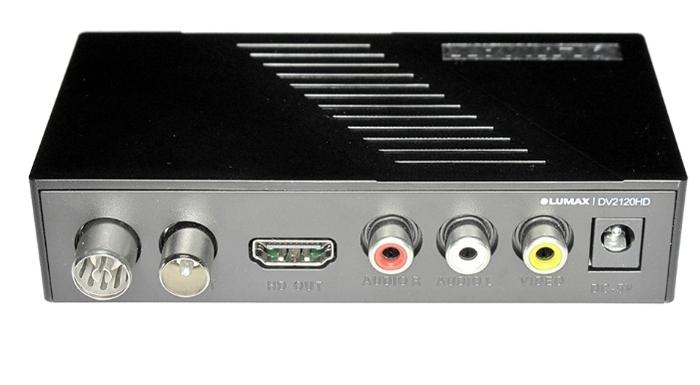 LUMAX DV-2120HD - воспроизведение файлов