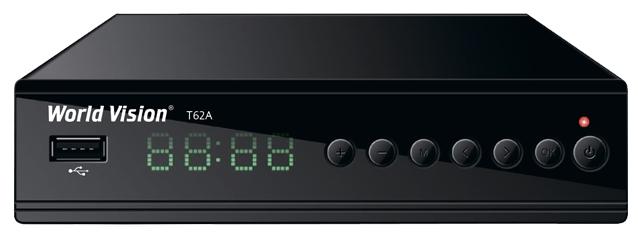 World Vision T62A - DVB-C, DVB-T, DVB-T2