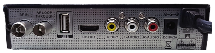 World Vision T62A - поддержка режима 1080p