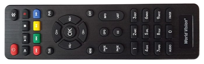 World Vision T62A - выход HDMI